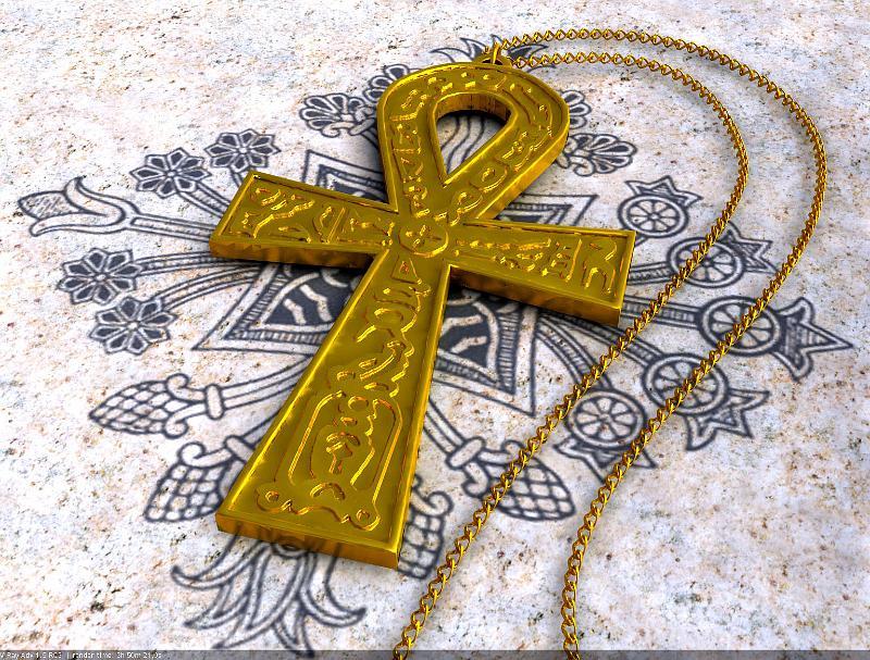Крест анкх своими руками 80
